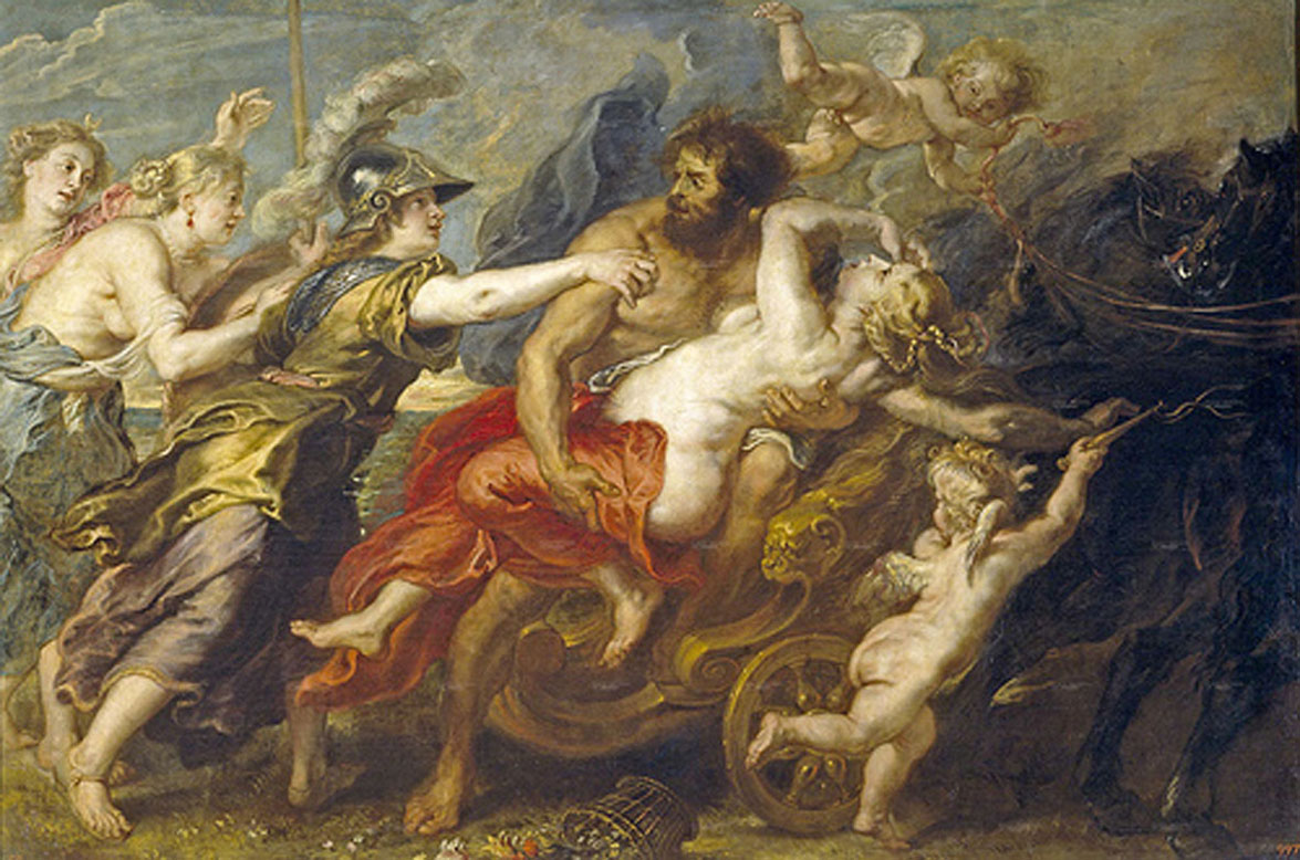 The Abduction of Persephone-Peter Paul Rubens,