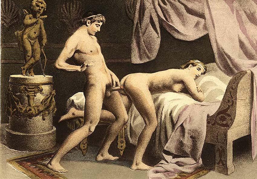 секс в музее ретро