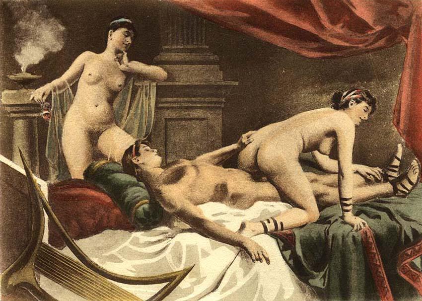 Искусство эротики или порно