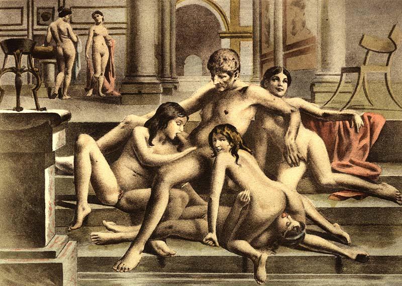 Руссакая секс древная