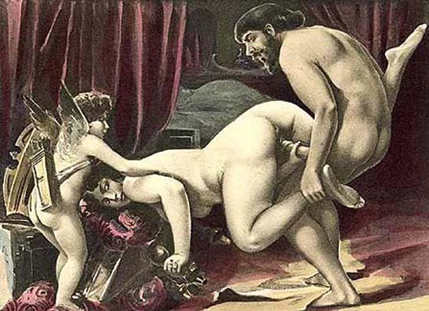 Древние секс фото