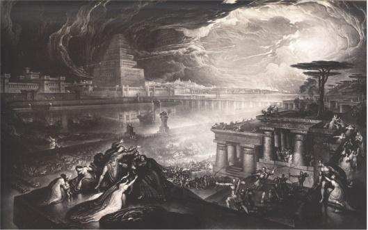 John Martin The Fall of Babylon, 1831