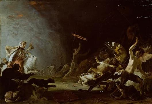 Cornelis Saftleven, Witches' Sabbath 1650