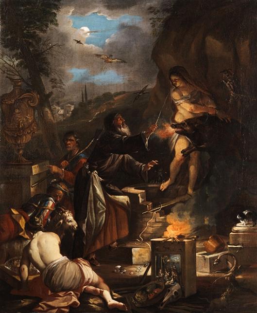 Dominicus van Wijnen, Witchcraft  Scene 17th c