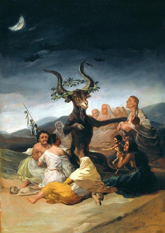 Francisco de Goya y Lucientes, El Aquelarre 1797