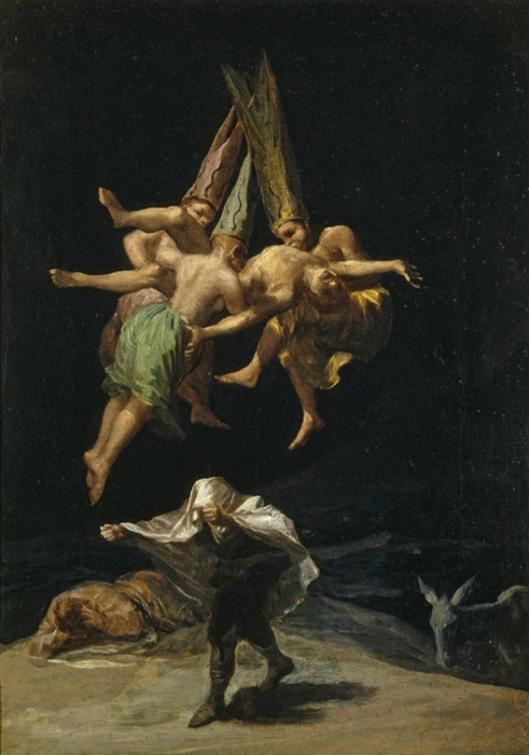 Francisco de Goya y Lucientes, Witches Flight 1797