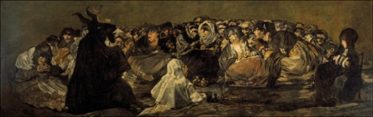 Francisco de Goya y Lucientes, Witches' Sabbath 1821