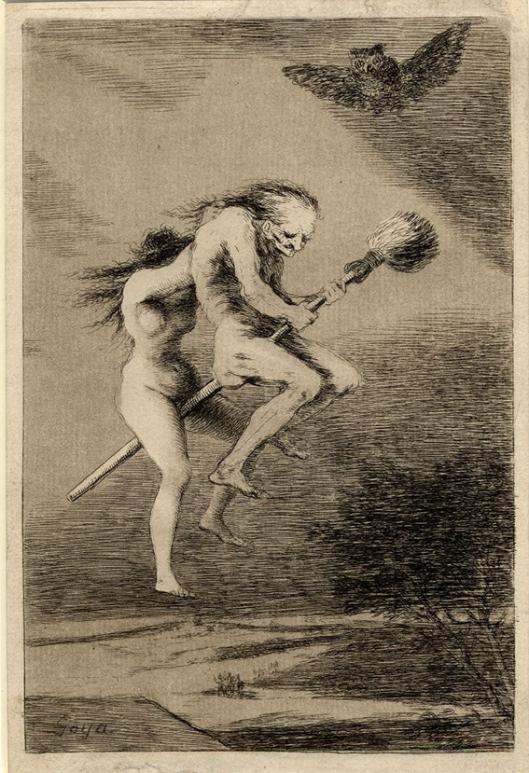 Francisco de Goya y Lucientes, Witches Sabbath c1800