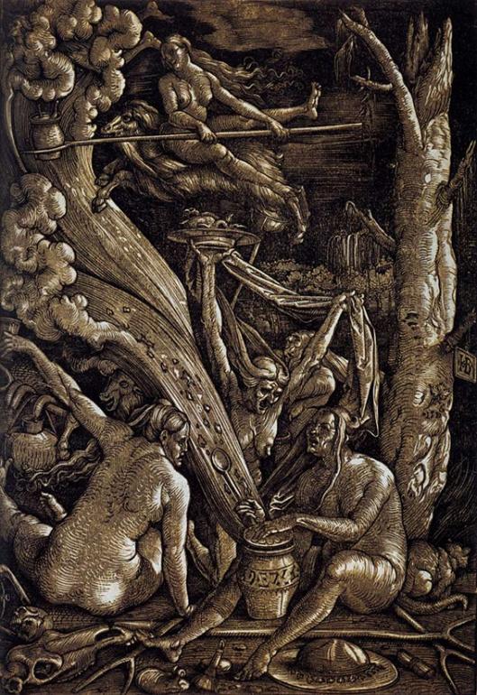 Hans Baldung, Witches Sabbath 1510