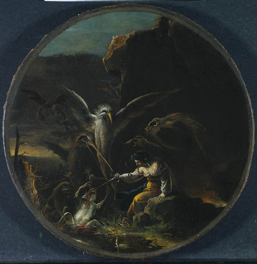 Salvator Rosa, The Witches' Morning-1645-1649