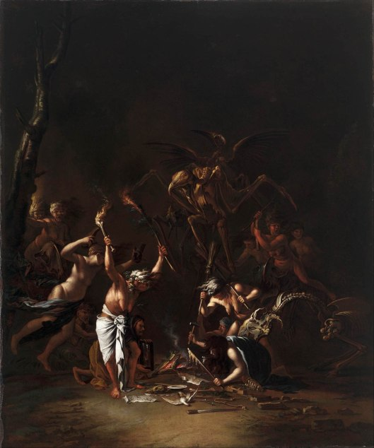 Salvator Rosa, The Witches' Sabbath 1635