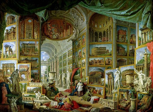 Giovanni Paolo Panini Gallery of Views of Ancient Rome (1758)