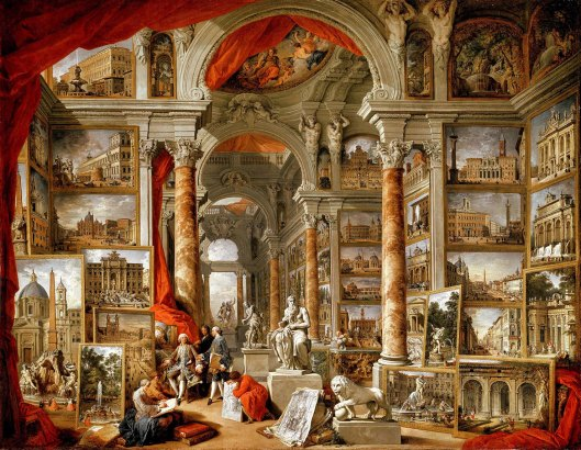 Giovanni Paolo Panini. Modern Rome. 1759.