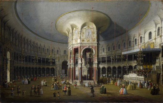 Giovanni Paolo Panini - The Lottery in Piazza di Montecitorio