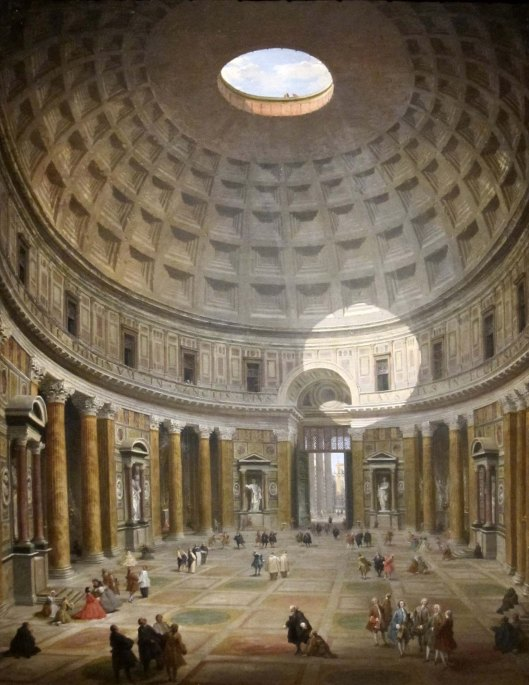Interior of the Pantheon' (1747)