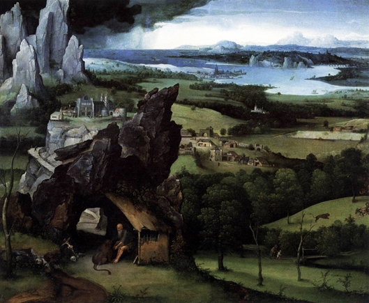 Landscape with St Jerome