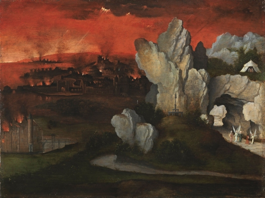 Landscape with the Destruction of Sodom and Gomorraht
