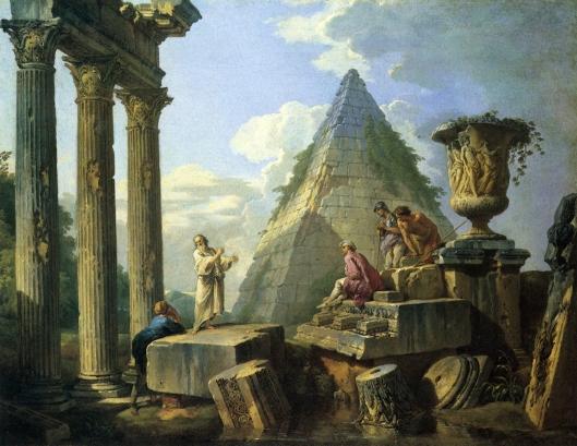 Roman ruin with figures (c1748)