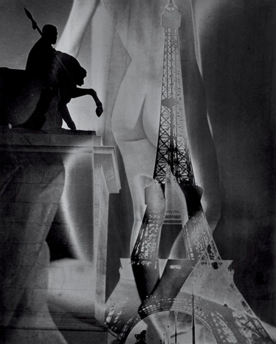 Eiffel Tower and Nude, 1947