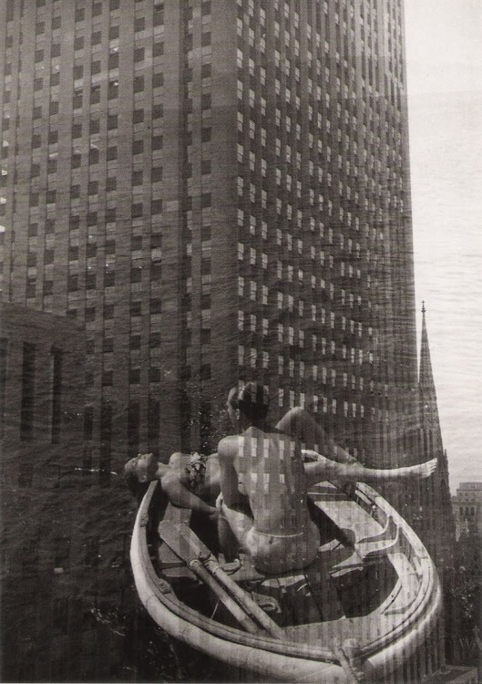 New-York dans ma barque 1948