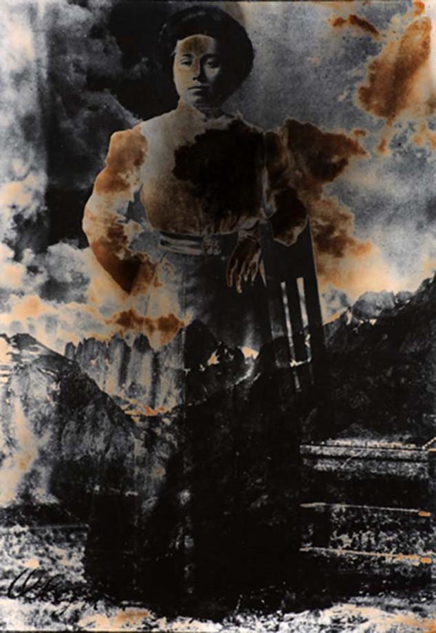 Olga Teske Schultz composite Mt. Whitney, 1975