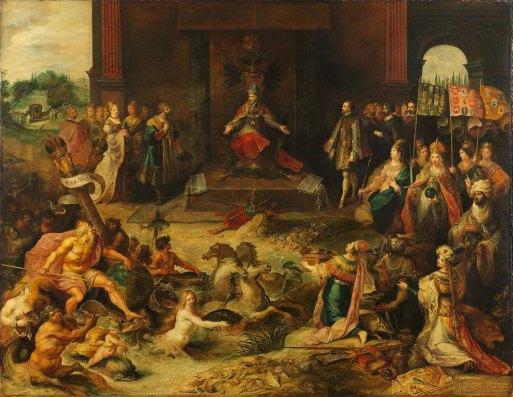 Allegoria dell'abdicazione di Carlo V