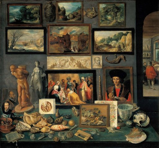 Chamber of Art and Curiosities.