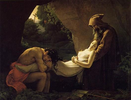La Mise au tombeau d'Atala 1808
