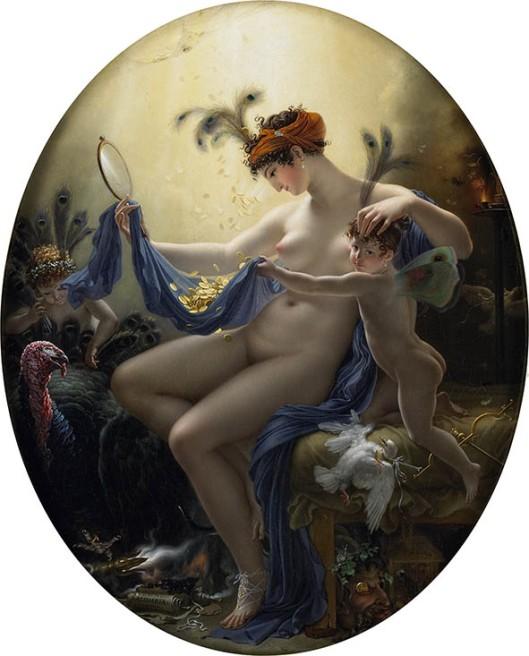 Mademoiselle Lange en Danaé, 1799