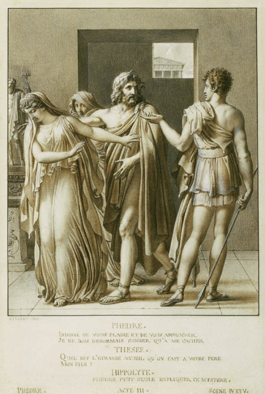 Phaedra Rejecting the Embraces of Theseus