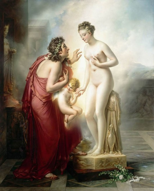 Pygmalion and Galatea 1814