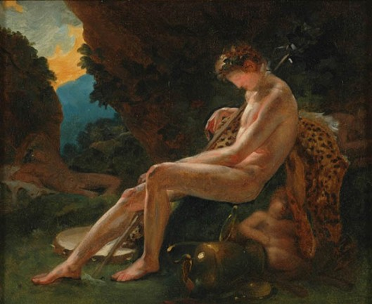 Sleeping Bacchus 1790
